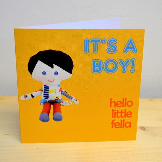 'Hello little fella' Card