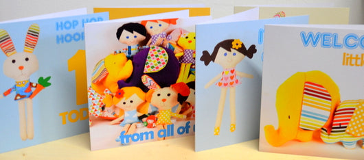 'Hello little doll' Card