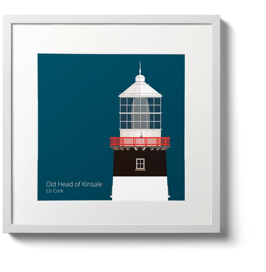 Old head of Kinsale Lighthouse Print