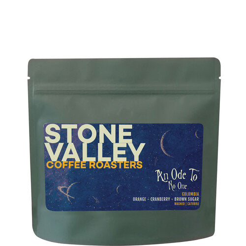 Freshly roasted Stone Valley coffee