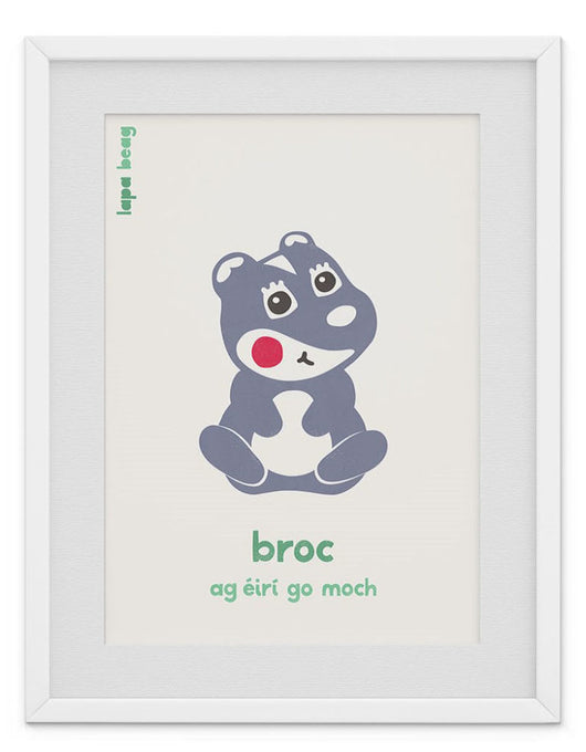 Broc (badger) by Lapa Beag