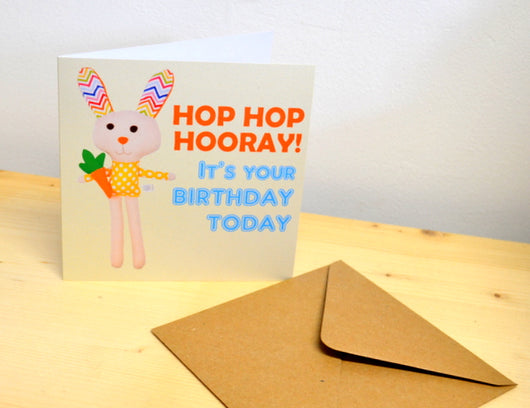 'Hip Hop Hurray' Birthday Card