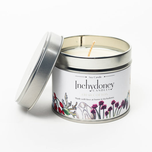 Inchydoney Christmas candle