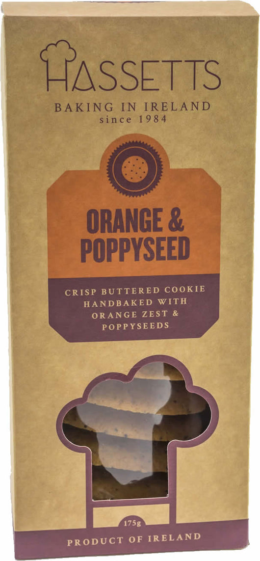 Orange & Poppy Seed biscuits