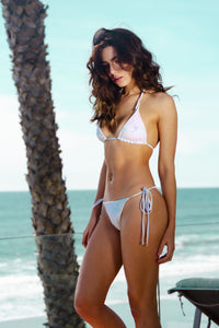 Ladyship The Barbados Shimmering White Bikini Set