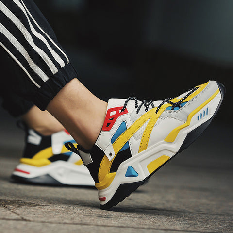 THUNDERBOLT X2-R Sneakers - Yellow/Off-White/Blue
