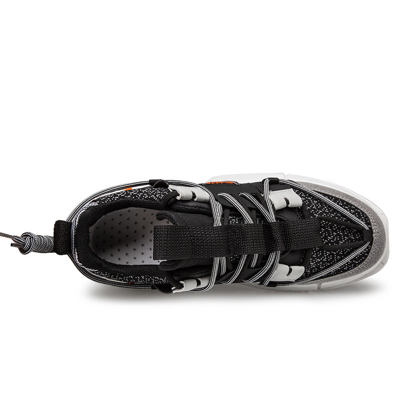 NINJA 'Electric Pulse' X6X Sneakers - Stealth Black