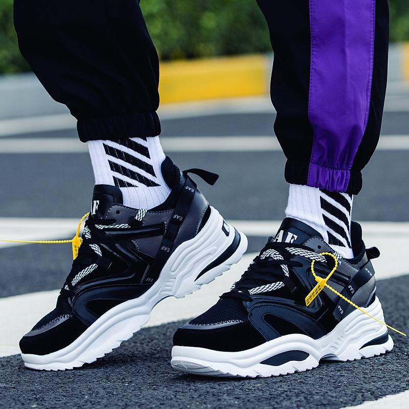 CHUNKY X9X Wave Runner Sneakers - Black
