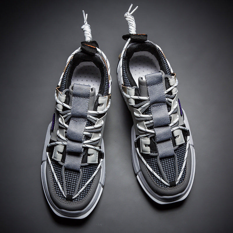NINJA 'Electric Pulse' X6X Sneakers - Battleship Grey