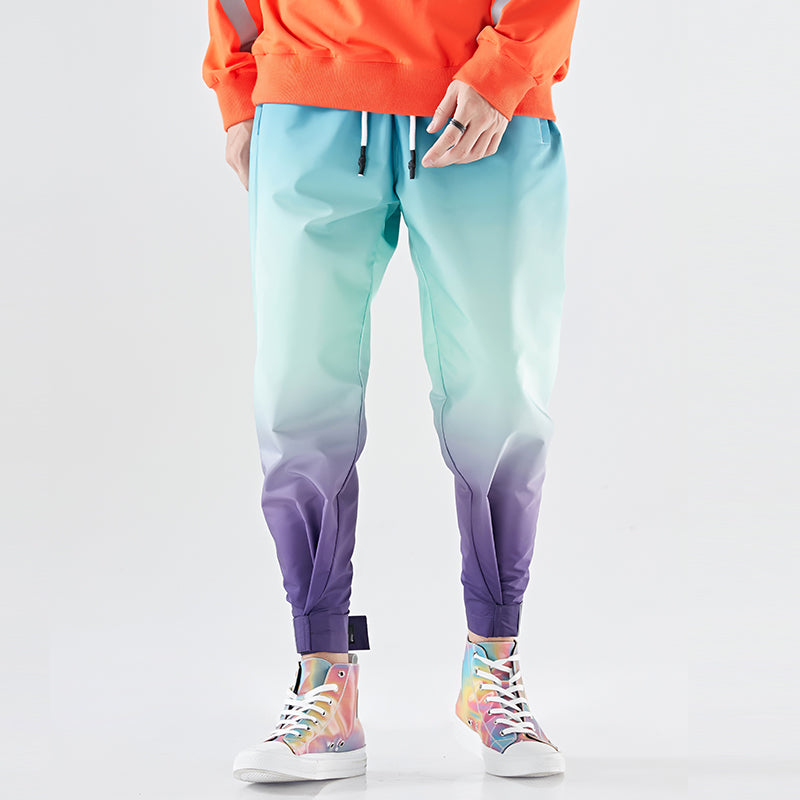 HIGHWAY11 Two Tone Harem Pants