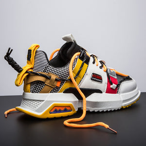 NINJA 'Electric Pulse' X6X Sneakers - Goldenrod Yellow
