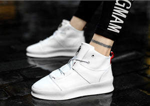 Di Lusso SMTHWLKR2 High Top Leather Sneakers