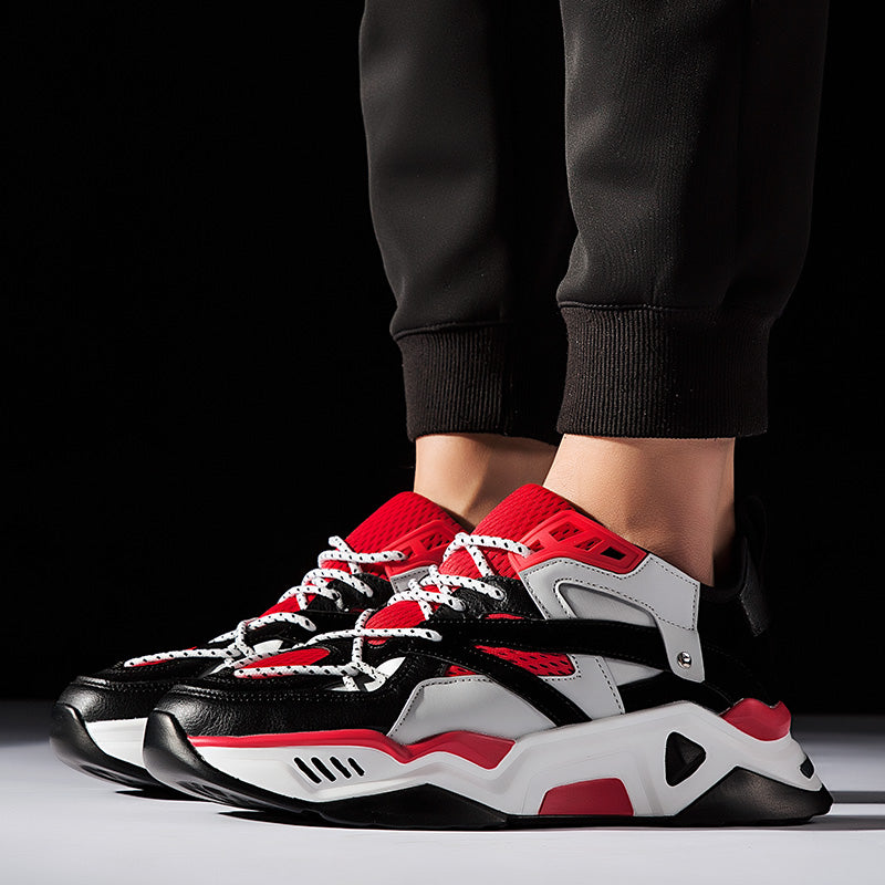 THUNDERBOLT X2-R Sneakers - Red/Grey/Black