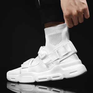 RAPID 'Buckle Up' Mesh Sock Sneakers