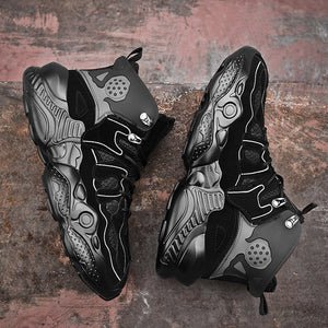 RENEGADE 'War Zone' X9X Sneakers - Triple Black