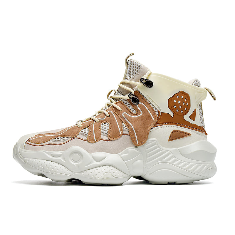 RENEGADE 'War Zone' X9X Sneakers - Beige/Brown
