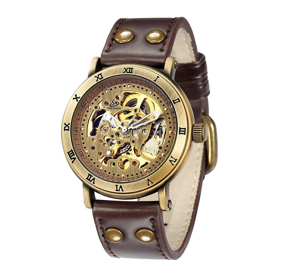 AUGUSTUS Automatic Vintage Bronze Watch