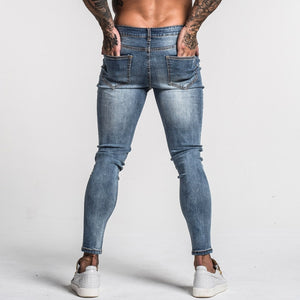 3746 Faded Blue Skinny Stretch Jeans