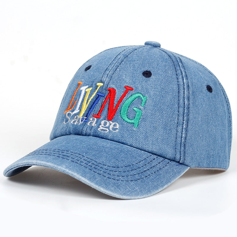 Living Savage Denim Hat