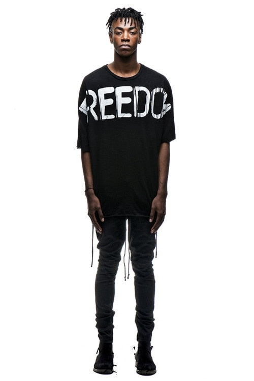 FREEDOM Oversized T-Shirt - 2 Colors