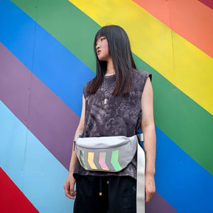 X7X Reflective Crossbody Bag