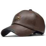 1785 Leather Baseball Cap