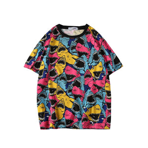 Shark Attack X Oversized T-Shirt