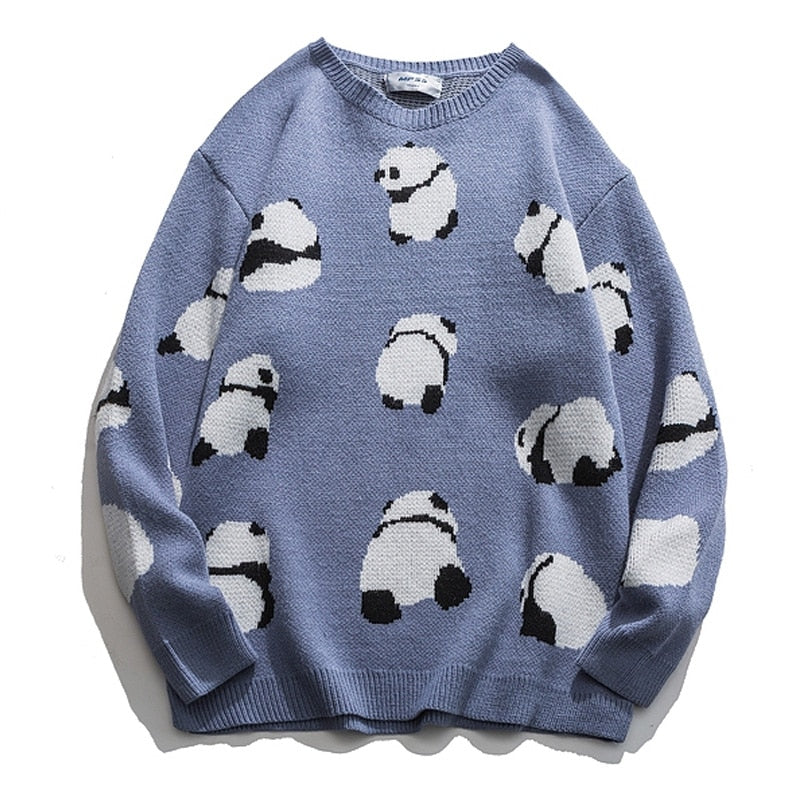 Panda Oversized Sweater