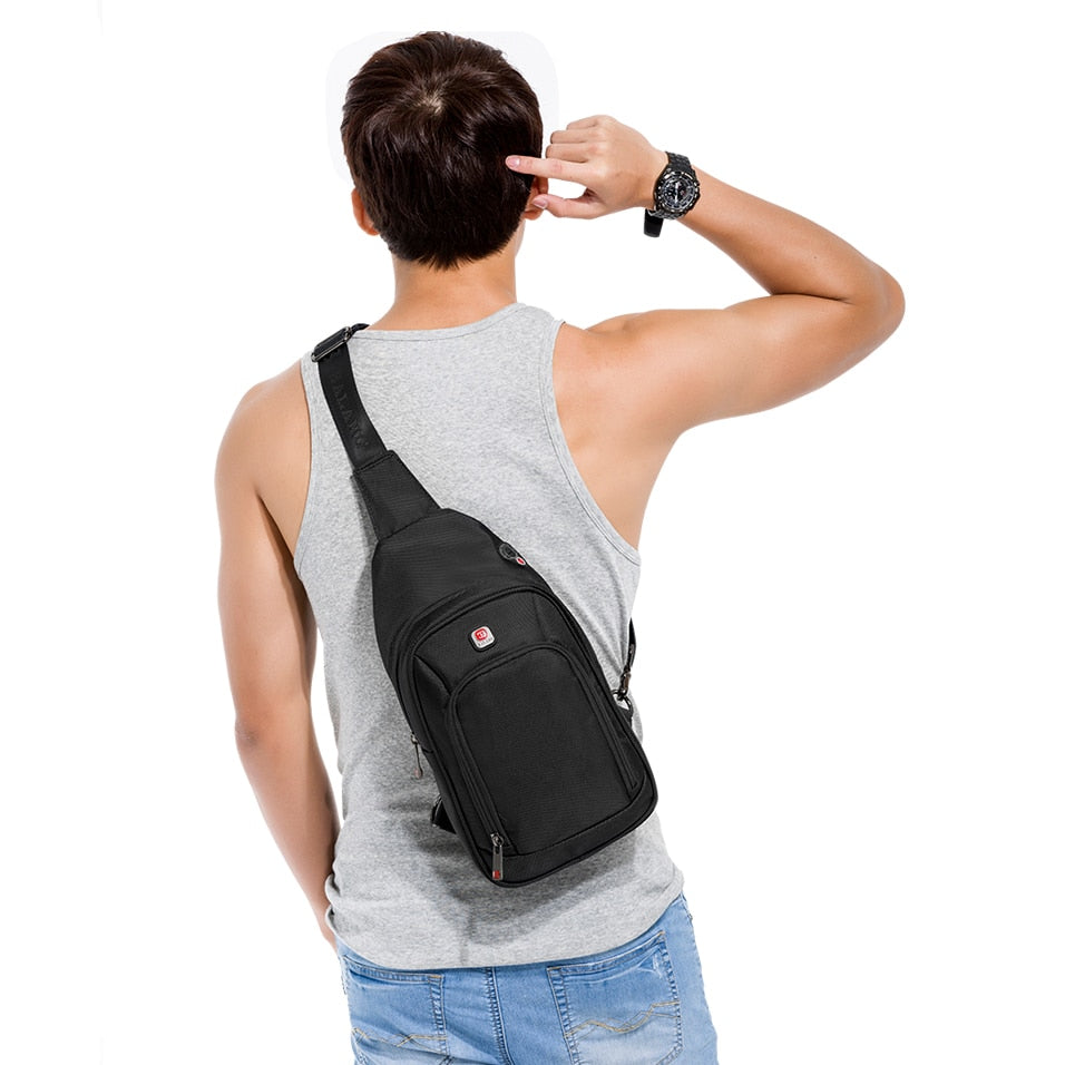 Premium Waterproof Nylon Crossbody/Sling Bag