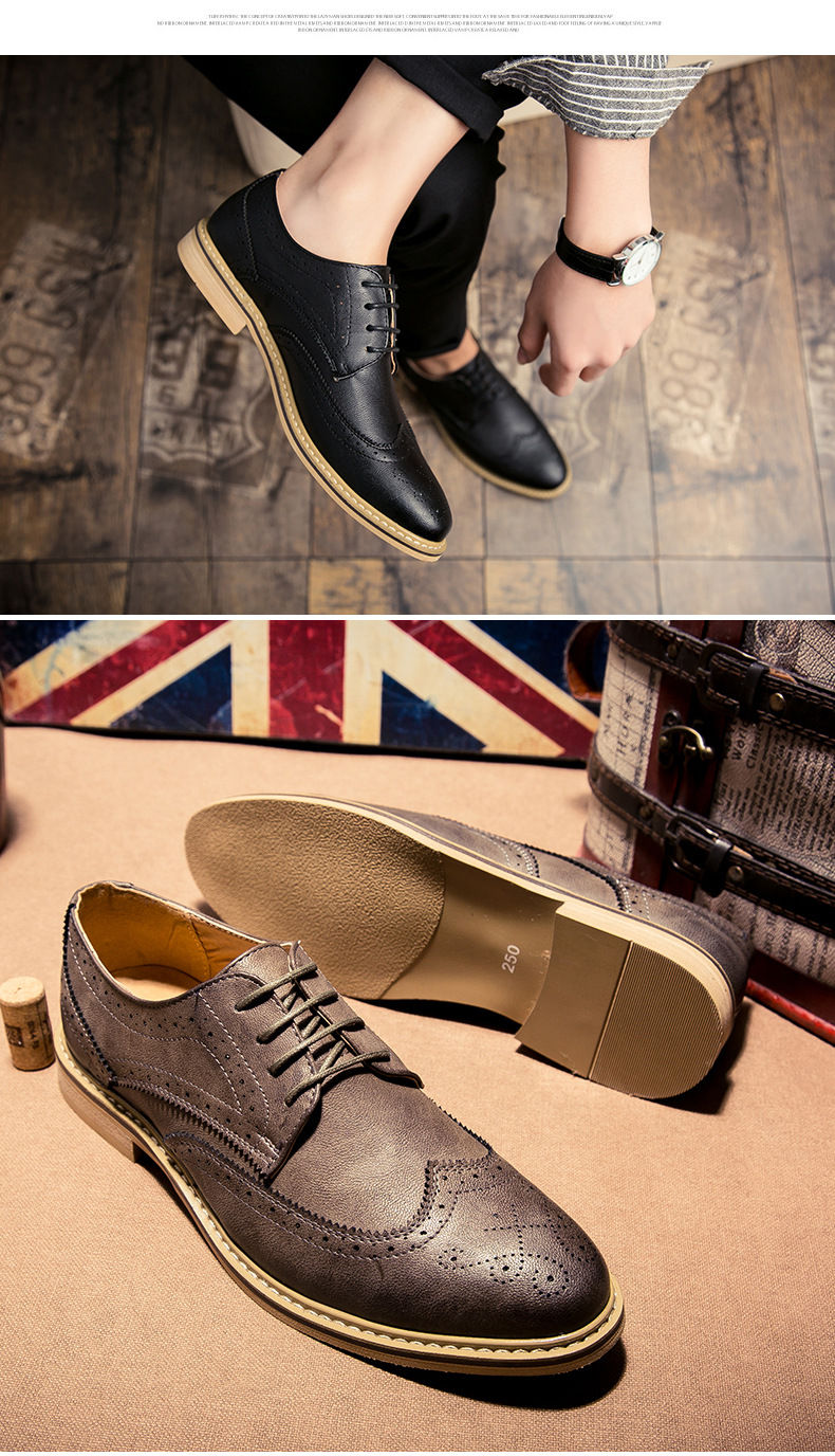 Luxury Leather British Brogues