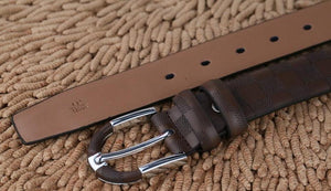 Luxury Genuine Leather Designer Belt