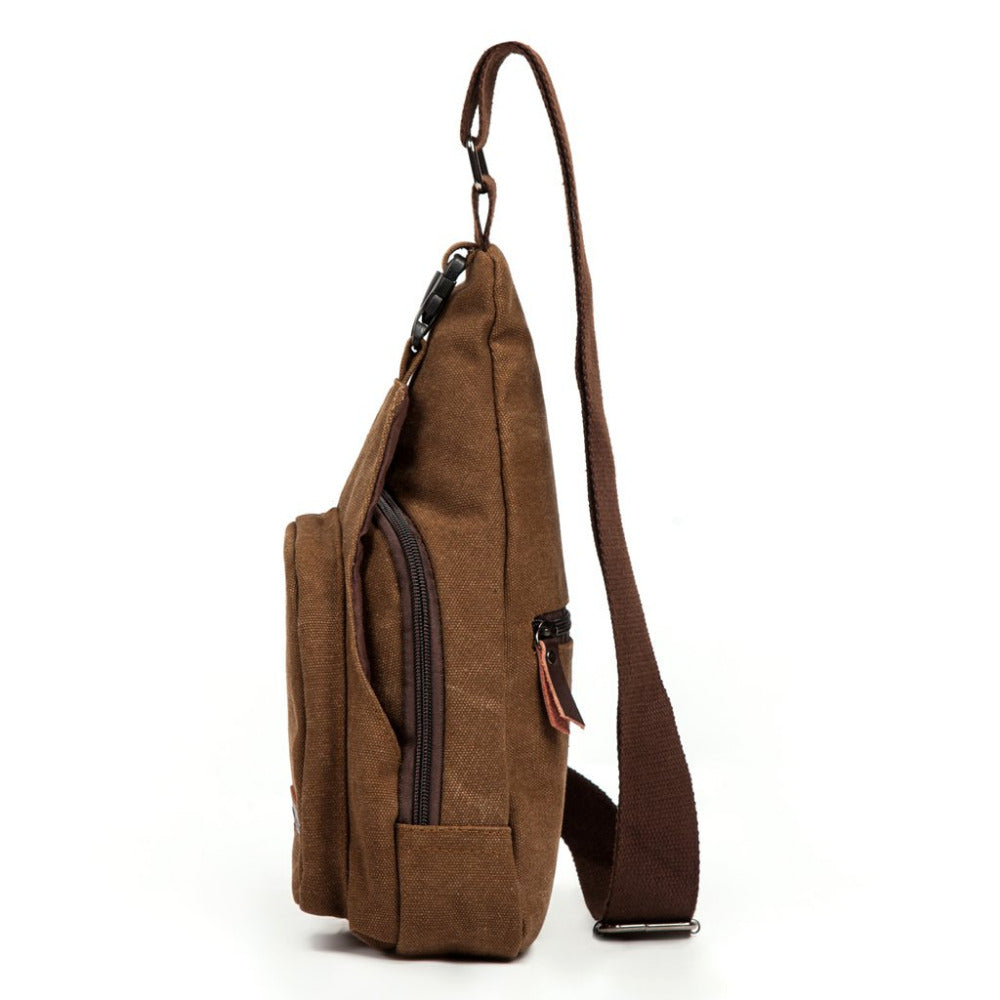 Modern Canvas Crossbody/Sling Bag - 3 Colors