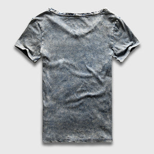 Vintage Slim Fit V Neck Washed T-Shirt - 3 Colors