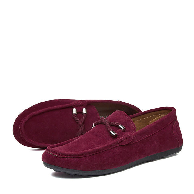 Casual Leather Driving Shoes/Moccasins - 4 Colors