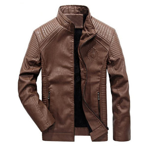Premium Slim Leather Biker Jacket