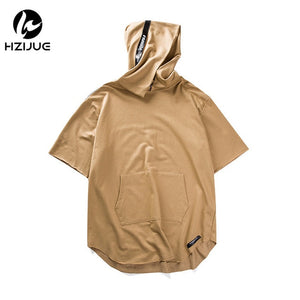 Premium Oversized Hooded T-Shirt - 3 Colors
