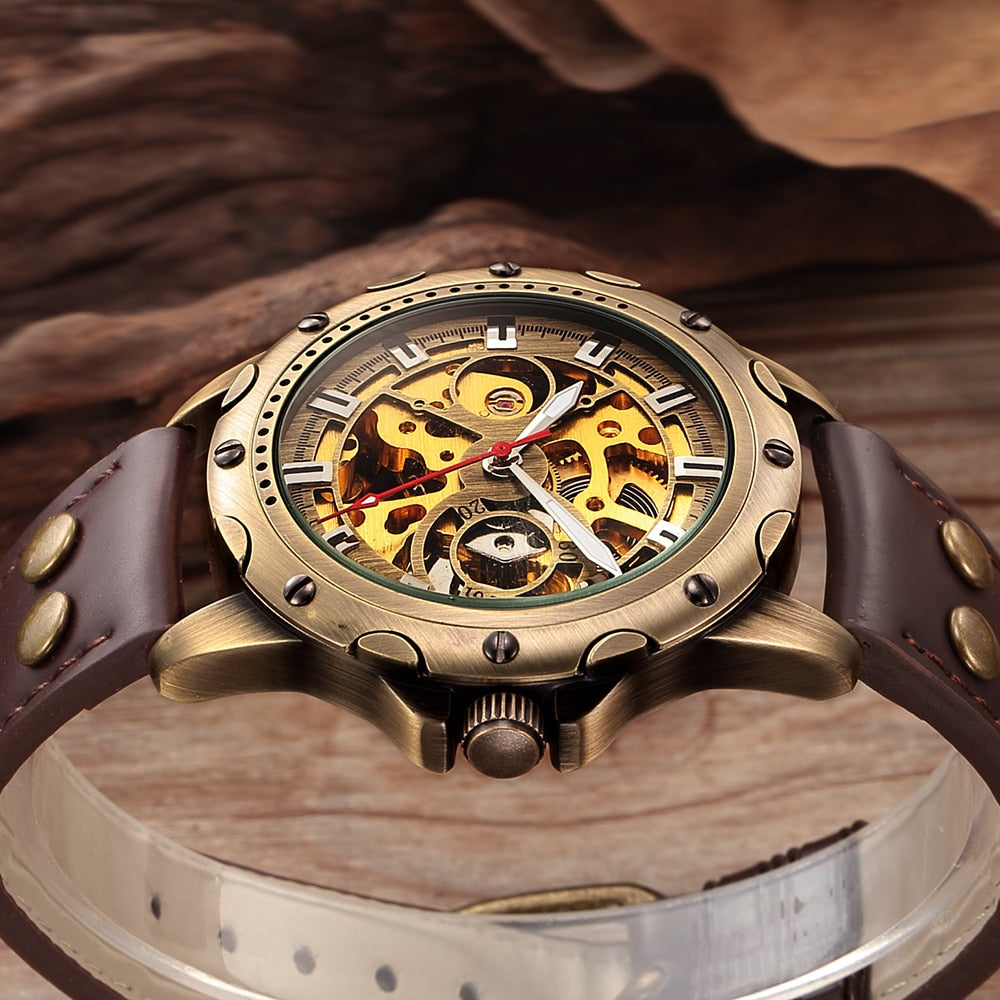 ANTICO Automatic Skeleton Watch