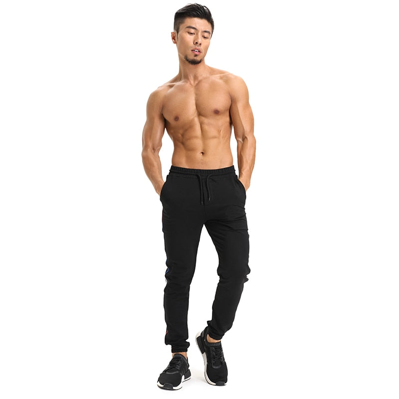 Premium Side Stripe Fitness Joggers