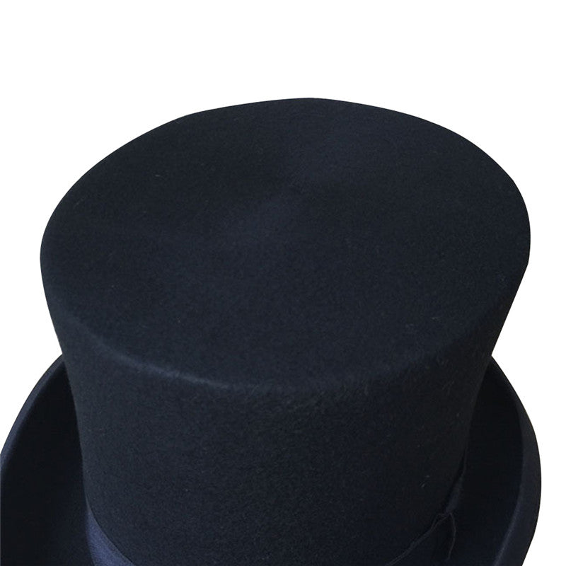 Traditional Black Top Hat