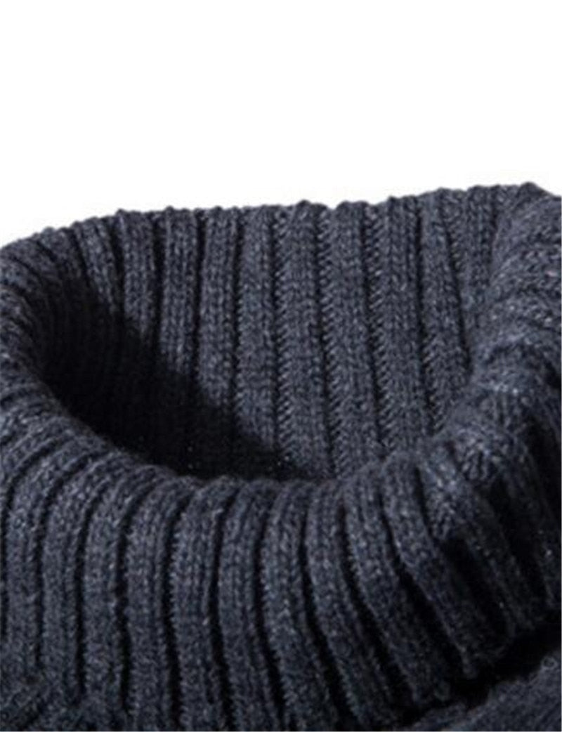 Premium Turtle Neck Cotton Sweater