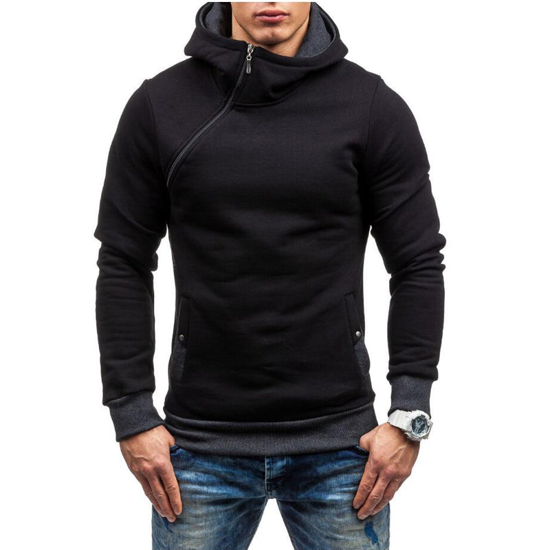 Premium Cross Zip Hoodie - 5 Colors
