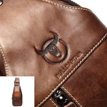 Luxury Leather Crossbody Bag - 4 Colors