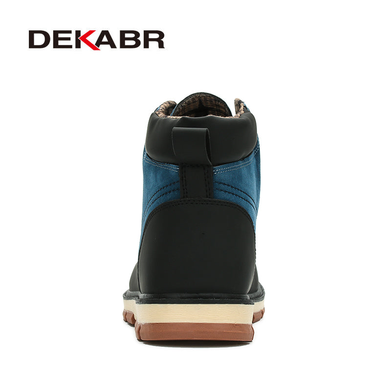 Premium Leather Ankle Boots - 3 Colors