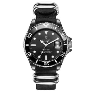 Mens Luxury Date Function Automatic Watch(Nylon Strap)