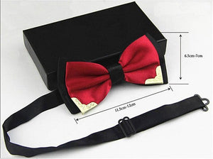 Luxury Boutique Metal Bow Ties - 19 Colors
