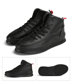 Di Lusso SMTHWLKR High Top Leather Sneakers