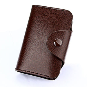Luxury Leather Card Holder