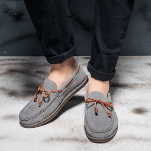 Luxury Genuine Leather Boat Shoes - 3 Colors