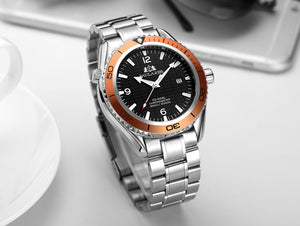 Luxury Automatic Bond Stainless Steel Watch