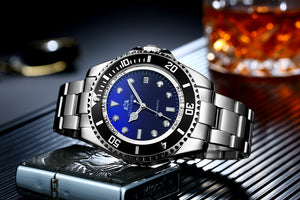 Luxury Automatic Date Dial Business Watch